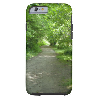Tunnel of Leaves Tough iPhone 6 Case