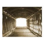 Tunnel of Light Postcard