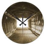 Tunnel of Light Wall Clock