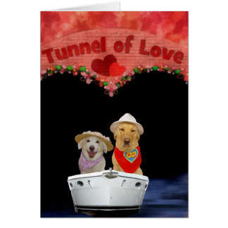 Tunnel of Love Greeting Cards