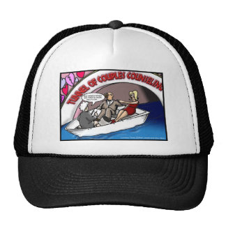 Tunnel Of Love?? Funny Offbeat Cartoon Gifts & Tee Trucker Hat