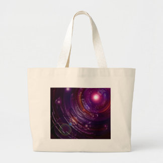 Tunnel of the Fireflies Large Tote Bag
