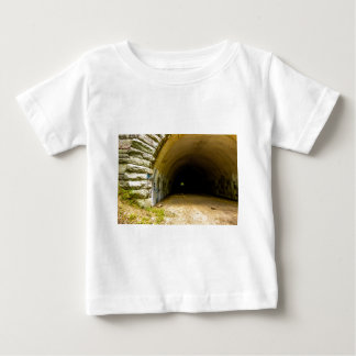 tunnel road to nowhere bryson city nature lake fon baby T-Shirt
