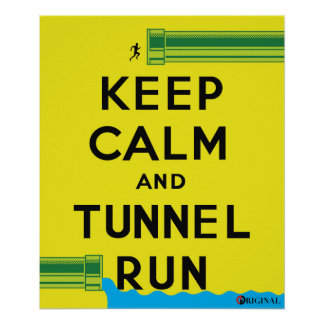 Tunnel Run (Union College Tradition) Poster