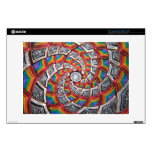Tunnel To The Moon Laptop Skin
