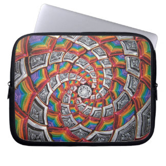 Tunnel To The Moon Laptop Zipper Sleeve