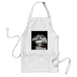 Tunnel View Adult Apron