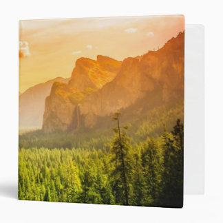 Tunnel View of Yosemite National Park Binders