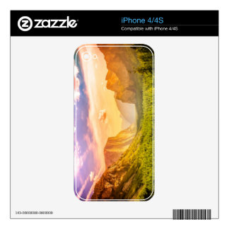 Tunnel View of Yosemite National Park iPhone 4 Skin