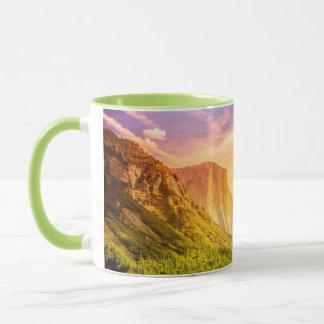 Tunnel View of Yosemite National Park Mug