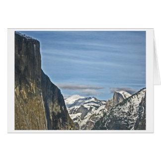 Tunnel View - Yosemite Card