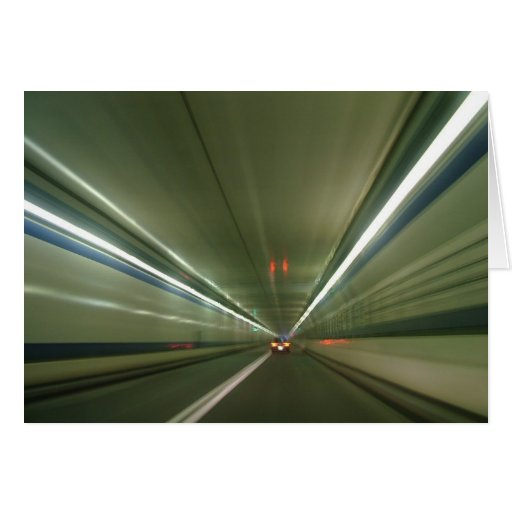 Tunnel Vision 122 Greeting Card