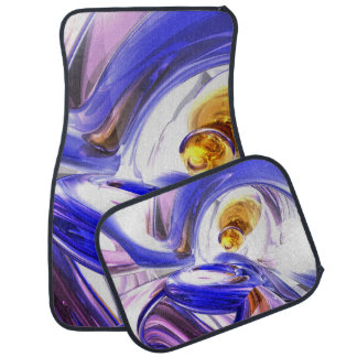 Tunnel Vision Abstract Car Floor Mat