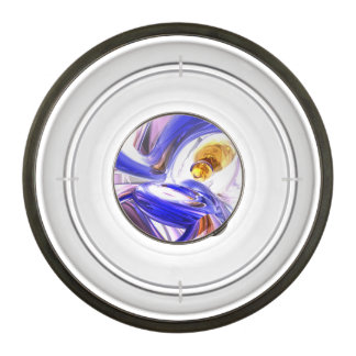 Tunnel Vision Abstract Pet Bowl