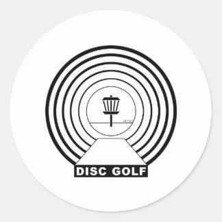 Tunnel Vision Classic Round Sticker