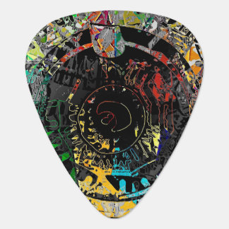 Tunnel Vision Guitar Pick