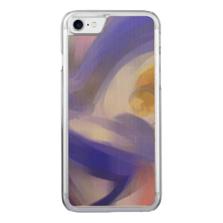 Tunnel Vision Pastel Abstract Carved iPhone 7 Case