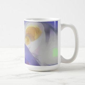 Tunnel Vision Pastel Abstract Coffee Mug