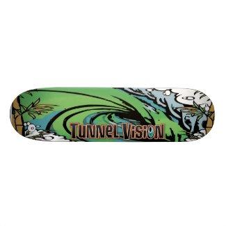 Tunnel Vision San Clemente Skate Deck