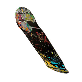 Tunnel Vision Custom Skateboard
