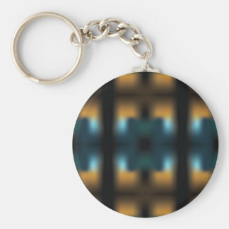 TUNNEL VISION SQUARED KEYCHAIN