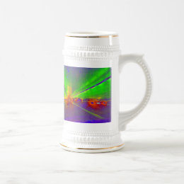 tunnel vision with espresso beer stein