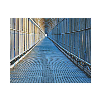 TUNNEL VISION WRAPPED CANVAS PRINT