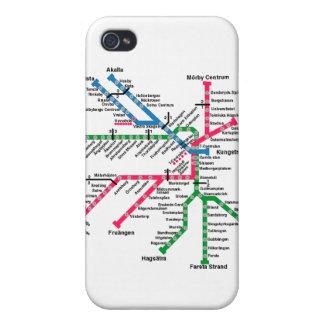 Tunnelbanan iPhone 4 Case