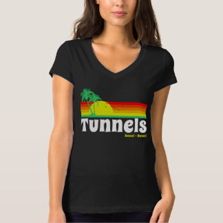 Tunnels Beach Haena Kauai Hawaii T-Shirt