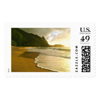 Tunnels Beach, Kauai Postage Stamp