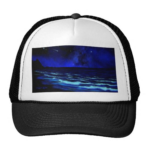 Tunnels Beach Kauai Trucker Hat