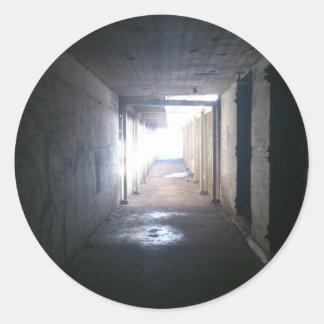 Tunnels Classic Round Sticker