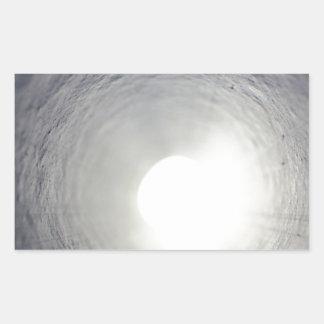 Tunnel's End Rectangular Sticker