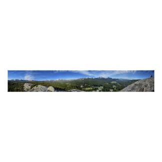 Tuolumne Meadows from Lembert Dome 3 - Yosemite Poster
