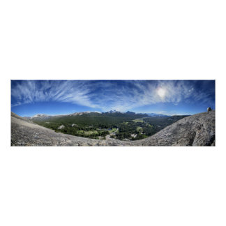 Tuolumne Meadows from Lembert Dome - Yosemite Poster