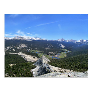 Tuolumne Meadows Panorama from Fairview Dome - Yos Postcard