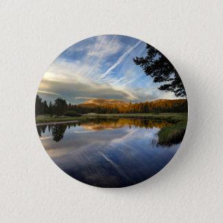 Tuolumne Meadows - Yosemite - John Muir Trail Pinback Button