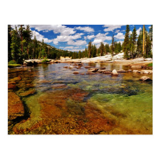 Tuolumne River, Yosemite. Post Card