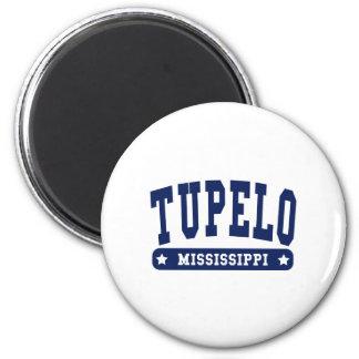 Tupelo Mississippi College Style tee shirts Fridge Magnets