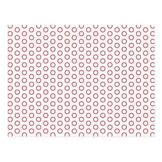 tupfen getupft tupfer muster kreise punktiert polk postkarten