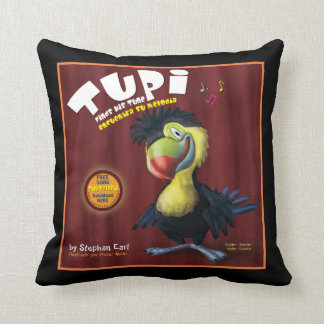 """""""Tupi Finds His Tune""""  Pillow"""