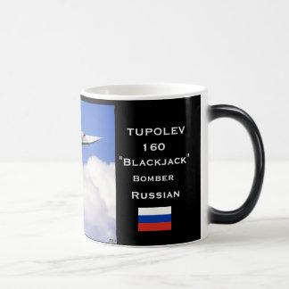 Tupolev 160 Bearcat Russian Bomber Mug