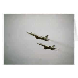 Tupolev T-22 bombarderos más ciegos fuerza aére Tarjetas
