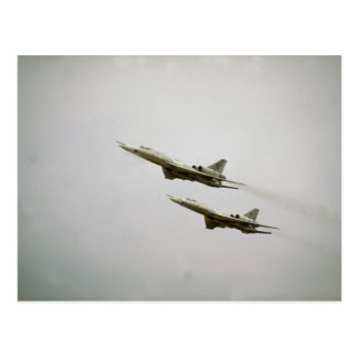 Tupolev T-22 bombarderos más ciegos fuerza aére Tarjeta Postal
