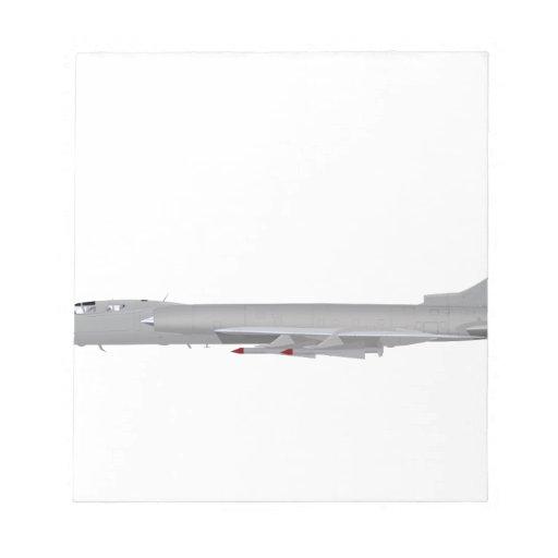 Tupolev Tu-128  Fiddler Note Pad