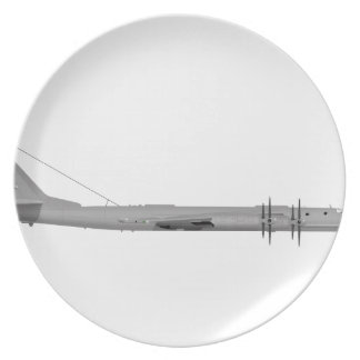 Tupolev Tu-95 Bear Dinner Plate