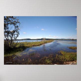 Tupper Lake in the Adirondacks. print 08 240