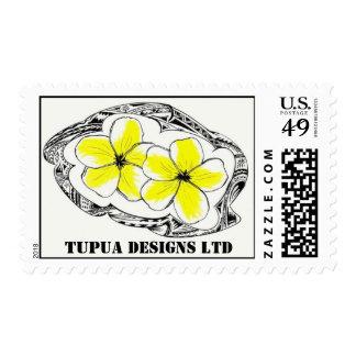 tupua tribal round, tupua designs ltd postage