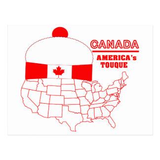 Tuque fresco de Canadá - de América Postal
