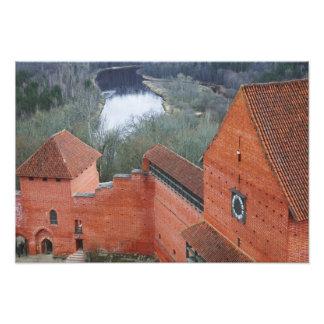 Turaida Castle by Gauja River, Sigulda, Latvia Photo Print